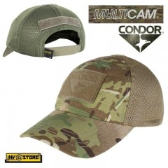 CAPPELLO BERRETTO MESH CONDOR MULTICAM CAP ORIGINALE US ARMY MILITARE SOFTAIR