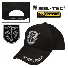 CAPPELLO BERRETTO MIL-TEC LOGO SPECIAL FORCES MILITARE SOFTAIR SURVIVOR BASEBALL