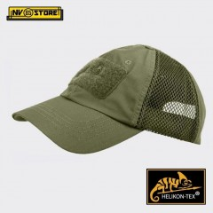Cappello Berretto Baseball HELIKON-TEX Cap Mesh Militare Softair Caccia Olive OD