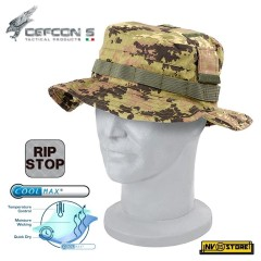 Cappello Berretto Boonie Hat Jungle DEFCON 5 in RIPSTOP COOLMAX Traspirante VI