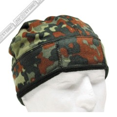 Cappello Militare Berretto MFH FLECKTARN Fleece Softair Caccia Military Cap