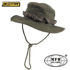 Bush Boonie Hat US Cappello Militare Jungle MFH Verde OD Softair Caccia Cap