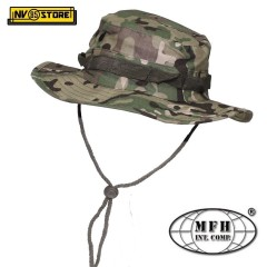 Bush Boonie Hat US Cappello Militare Jungle MFH OP. Multicamo Softair Caccia Cap