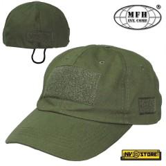 Tactical CAP Cappello Berretto Militare MFH Operation Softair Bosco Caccia OD