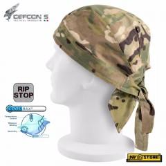 Bandana Mimetica Militare DEFCON 5 in RIPSTOP COOLMAX Traspirante Color MULTICAM