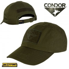 CAPPELLO BERRETTO CONDOR TACTICAL CAP ORIGINALE US ARMY MILITARE SOFTAIR VERDE
