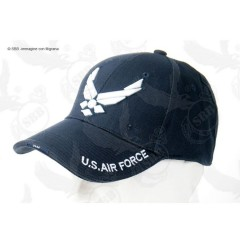 CAPPELLO BERRETTO US AIR FORCE USA *ORIGINALE 100%* US ARMY MILITARE SOFTAIR BLU