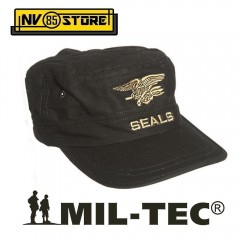 CAPPELLO BERRETTO MIL-TEC LOGO NAVY SEALS MARINES MILITARE SOFTAIR SURVIVOR N