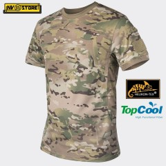 Maglia HELIKON-TEX T-Shirt Tactical Tattica Caccia Softair Militare Outdoor Camo