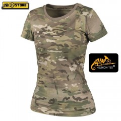 Maglia da Donna HELIKON-TEX T-Shirt Women's Tactical Softair Militare Outdoor CG