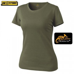 Maglia da Donna HELIKON-TEX T-Shirt Women's Tactical Softair Militare Outdoor OD