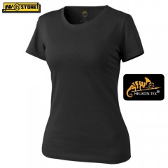 Maglia da Donna HELIKON-TEX T-Shirt Women's Tactical Softair Militare Outdoor BK