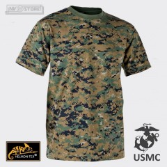 T-Shirt USMC Marines Corps Pants Marpat 100% Originale *HELIKON-TEX* con Logo