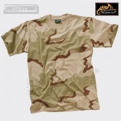 MAGLIA T-Shirt US ARMY DESERT 3 Colori HELIKON-TEX Esercito Americano Camouflage