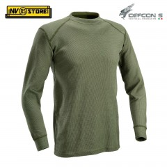 Maglia Termica Tattica DEFCON 5 Manica Lunga Thermal Shirt Militare Softair OD