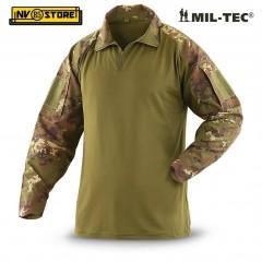 Maglia Tattica MILTEC Manica Lunga Tactical Field Militare Camo Mimetica Softair
