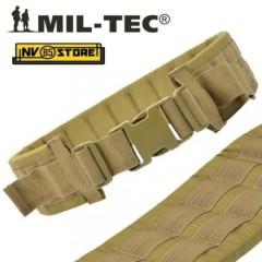 Cinturone Cintura SISTEMA M.O.L.L.E. Miltec per Fondina Pistola Imbottito Tan
