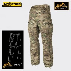 Pantaloni HELIKON-TEX SFU NEXT Pants Tattici Caccia Softair Militari Outdoor CMG