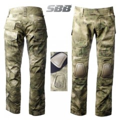 Pantaloni SBB Brancaleoni A-TAC Outdoor Tactical Pants RIP-STOP Militare Softair