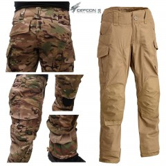 Pantaloni DEFCON 5 Advanced Tactical Pants Combat RIPSTOP Militare Softair COYOT