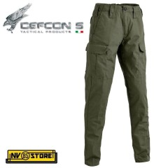 Pantaloni DEFCON 5 Basic Outdoor Tactical Pants RIP-STOP Militare Softair OD