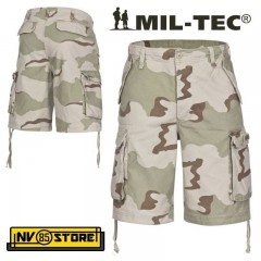 BERMUDA PANTALONI MILTEC PARATROOPER SHORTS DESERT TASCONI SOFTAIR SURVIVOR DS