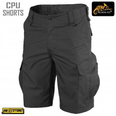 Bermuda HELIKON-TEX CPU Shorts Pants Tattici Caccia Softair Militari Outdoor BK