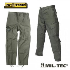PANTALONI MIL-TEC PANTS CANADIAN OD ACU VERDE GREEN TASCONI SOFTAIR SURVIVOR