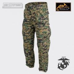 Pantaloni USMC Marines Corps Pants Marpat 100% Originale *HELIKON-TEX* con Logo