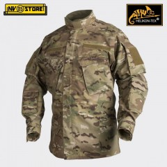 CPU Jacket HELIKON-TEX Giacca Combat Shirt Softair Militare Outdoor Multicam Gro
