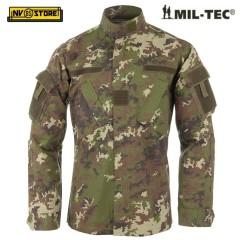 Giacca Tattica ACU Jacket camo Vegetato MIL-TEC Caccia Militare Softair taglia S