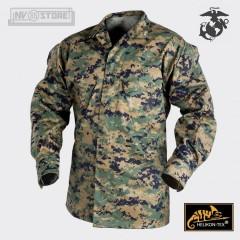 USMC Marines Corps Jacket Marpat 100% Originale *HELIKON-TEX* con Logo Ricamato