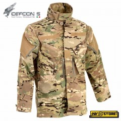 Giacca Tattica Tactical Jacket DEFCON 5 Multicam YKK Manica Lunga Combat Shirt