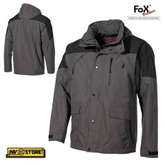 Giacca MFH High Muntain IMPERMEABILE Rain Jacket Tattica Militare Softair Caccia