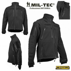 Giubbotto Softshell MILTEC Giubbino Tattico Softair IMPERMEABILE Multitasche N