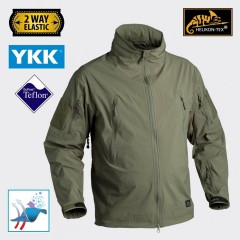 Soft Shell HELIKON-TEX Trooper Giacca Jacket Caccia Softair Militare Outdoor OD
