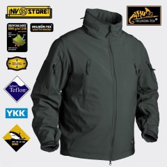 Softshell HELIKON-TEX GUNFIGHTER Giacca Jacket Caccia Softair Militare Outdoor J