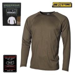 Maglia Termica MFH Underwear Level 1 GEN III Intimo Termico Caccia Militare OD