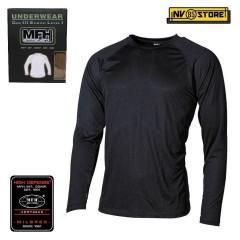 Maglia Termica MFH Underwear Level 1 GEN III Intimo Termico Caccia Militare BK