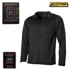 Maglia Termica MFH Underwear Level 2 GEN III Intimo Termico Caccia Militare Nero