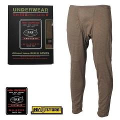 Pants MFH Underwear Level 2 GEN III Pantaloni Intimo Termico Caccia Militare OD