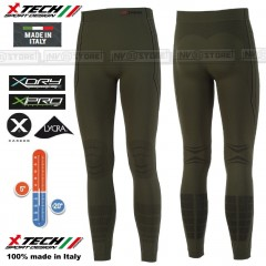 Pantalone Intimo Termico X-TECH PREDATOR3 -20° Made in Italy 100% Termic Pants