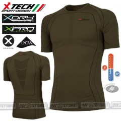 Maglia Tecnica Termica X-TECH Predator3 M/C Extreme -20° Italy Made Termic Shirt