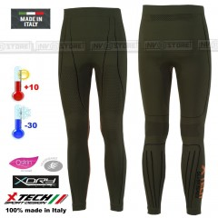 Pantalone Intimo Termico X-TECH EVOLUTION -30° Made in Italy 100% Termic Pants