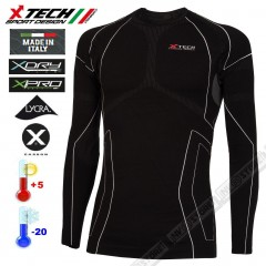 Maglia Tecnica Termica X-TECH RACE3 Extreme -20° Made in Italy 100% Termic Shirt