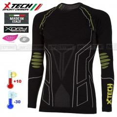 Maglia XTECH Tecnica Termica X-TECH PREMIUM -30° Thermal Shirt Made in Italy