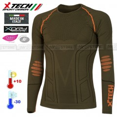Maglia Tecnica Termica X-TECH EVOLUTION -30° Made in Italy 100% Termic Shirt