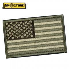 Patch Bassa Visibilità USA Stati Uniti America 8x5 Militare Softair Velcrogrip O